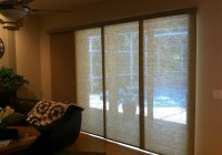 blinds or curtains for sliding doors