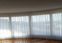Blinds With Curtains Over