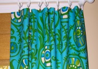 Blue And Green Kitchen Curtains