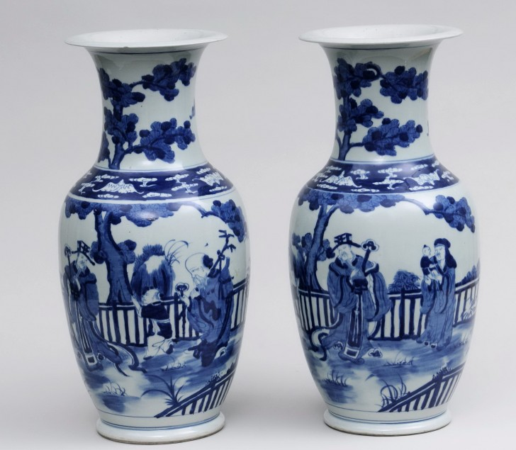 Permalink to Blue And White Vase Prints