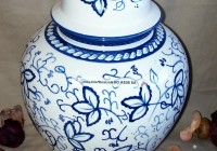 Blue And White Vases And Jars