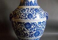 Blue And White Vases Antique