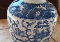 Blue And White Vases For Sale