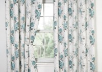 Blue Floral Curtains Uk
