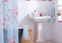 blue floral shower curtains