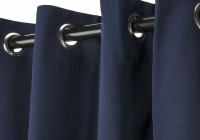 Blue Grommet Curtains 96