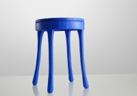 Blue Side Table Lamps