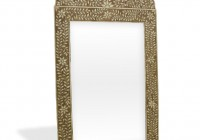 Bone Inlay Floor Mirror