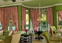Bow Window Curtain Rods