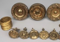 Brass Curtain Rings With Clips