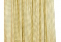 Bright Yellow Curtains Sale