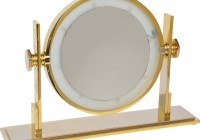 Broadway Table Top Lighted Vanity Mirror