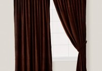 Brown Velvet Curtains Ikea