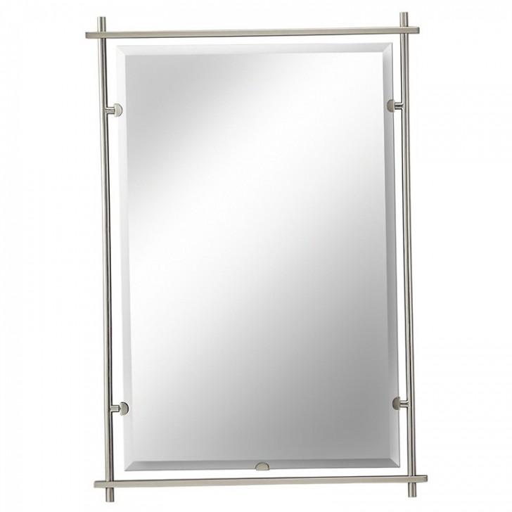 Permalink to Brushed Nickel Mirror Clips