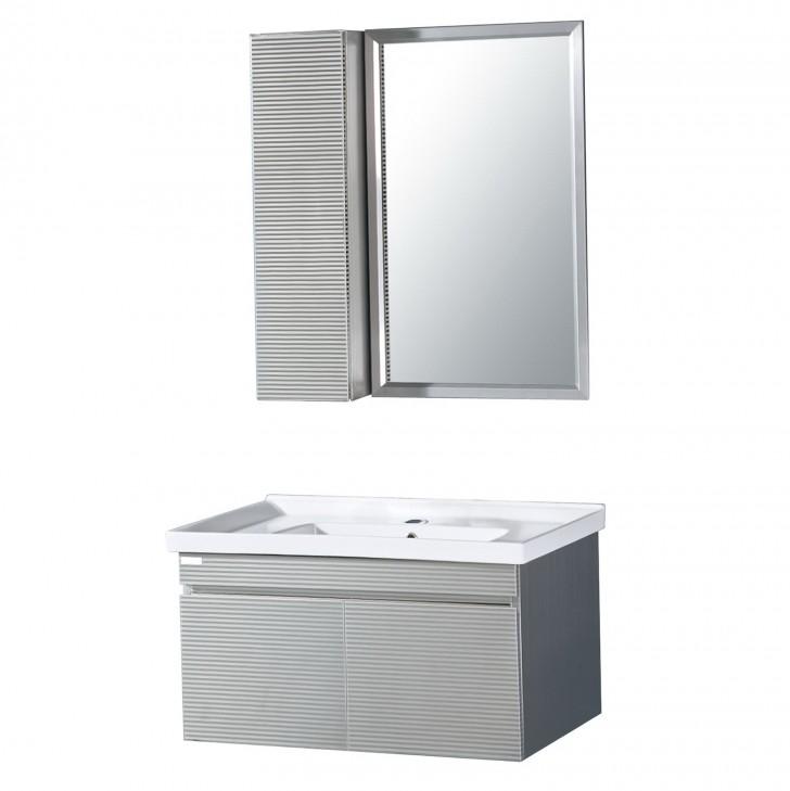 Permalink to Brushed Nickel Mirror Frame Kit