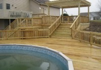 Build Deck Around Pool
