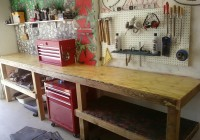 Build Garage Work Bench