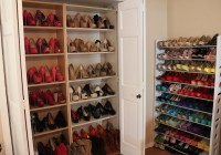 Build Shoe Shelves In Closet