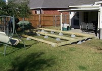 Building A Floating Deck With Deck Blocks