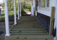 Building A Freestanding Deck On A Slope