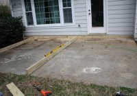 Building A Ground Level Deck On Concrete