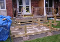 Building A Wood Deck On Top Of A Concrete Patio
