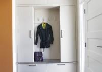 built in coat closet ideas