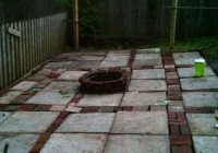 Built In Deck Fire Pit