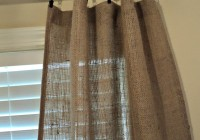 Burlap Drapes And Curtains