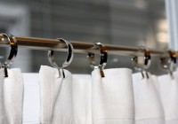 Cafe Curtain Rods Outside Mount