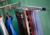 California Closet Tie Rack