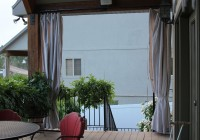 Canvas Curtain Panels Outdoor