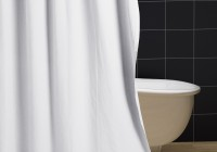 Canvas Shower Curtain Liner