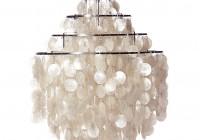 Capiz Shell Chandelier Lighting