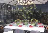 cascading glass bubble chandelier
