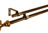 cast iron curtain rods