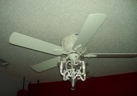 Ceiling Fan Chandelier Attachment