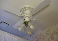 Ceiling Fan Chandelier Combo