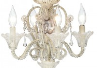 ceiling fan with crystal chandelier light kit