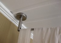 Ceiling Hanging Curtain Rods