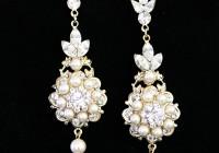Chandelier Crystal Earrings Wedding