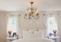 Chandelier In Master Bedroom