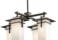 chandelier square glass shades