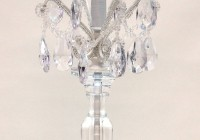 Chandelier Style Table Lamp