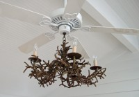 Chandelier With Ceiling Fan Attached