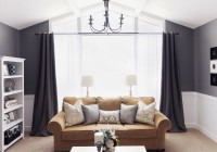 charcoal grey sheer curtains