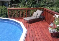 Cheap Deck Ideas For Above Ground Pools