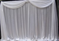 Cheap White Curtains Bulk