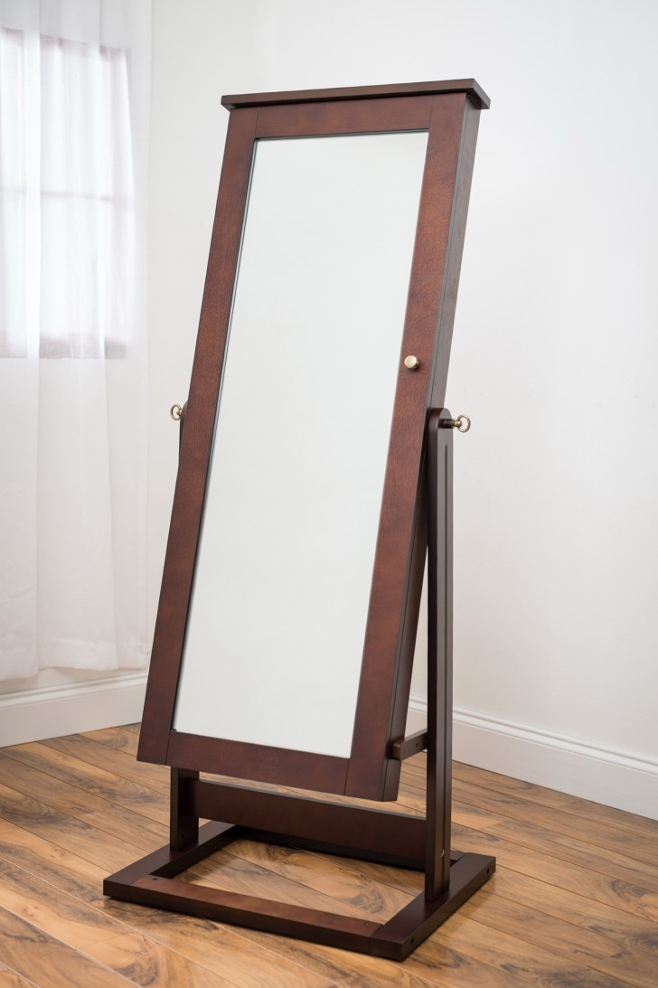 Permalink to Cheval Jewelry Armoire Mirror