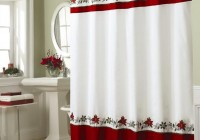 Christmas Bathroom Shower Curtains